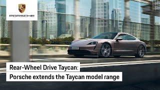 Porsche Taycan - Rear-Wheel Drive Joins the Family