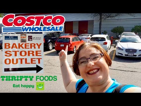 Costco, Bakery And Thrifty Foods Shopping And Haul With Victoria