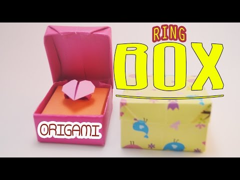 Valentine's day Origami ring box Tutorial