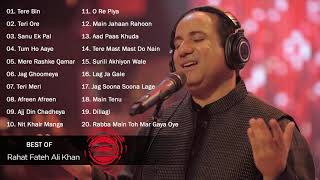 Best Songs Of Rahat Fateh Ali Khan - Rahat Fateh Ali Khan Sad Songs All Hit Time - JUKEBOX 2021