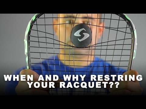 When and Why Restring Your Racquet