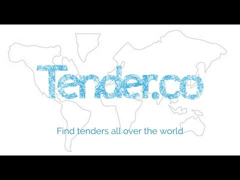 How to use Tender.co to find tenders all over the world