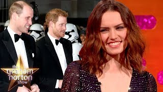 Prince Harry & Prince William Hosted a Star Wars Party! | The Graham Norton Show