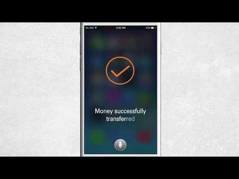 Use Siri to initiate transfers through ICICI Bank Money2India
