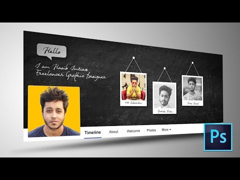 Facebook Cover Photo Design in Photoshop CC | Photoshop Tutorial