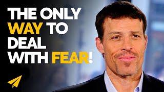 """""""Turn FEAR On ITSELF!"""" - Tony Robbins (@TonyRobbins) - #Entspresso"""