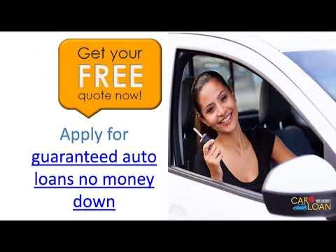 Buy No Money Down Car Loans Online