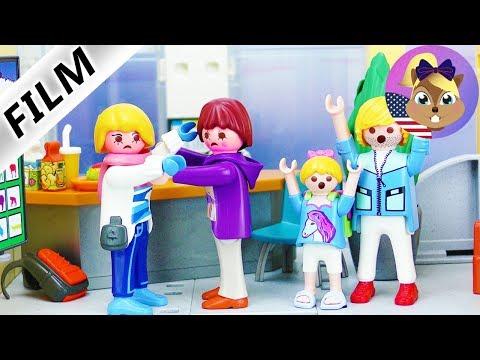 Playmobil Film English   MOM argues with Hannah's math teacher   Kids Series Smith Family