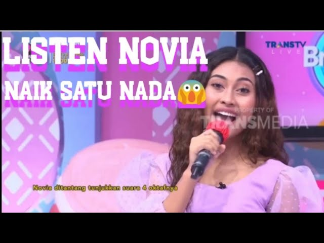 Download NAIK SATU NADA, LISTEN - NOVIA BACHMID (BEYONCE. LIVE BROWNIS TRANS TV) MP3 Gratis