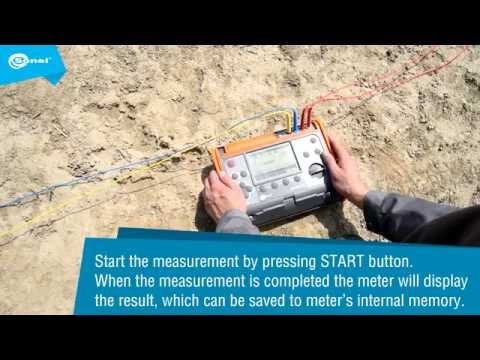 How to check soil resistivity? Earth ground resistance and resistivity Sonel MRU-200 (EN 62305)
