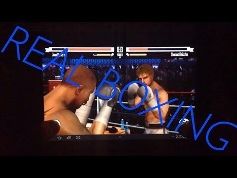 Real Boxing on Samsung GALAXY Tab 8.9 [1080p] HD