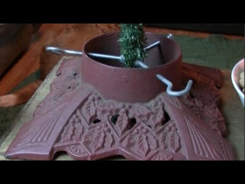 Convert an Artificial Tree for a Decorative Stand ~ Rick's Tips DIY