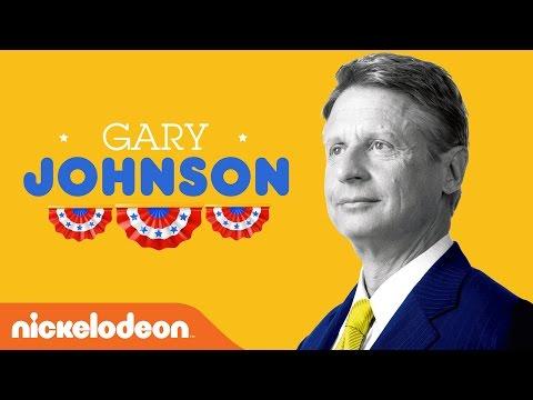 Gary Johnson's 3rd Party Spot | Kids Pick the President | Nick