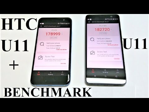 HTC U11+ vs HTC U11 - BENCHMARK COMPARISON
