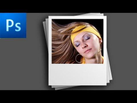 Photoshop Tutorial: Create a Polaroid Photo -HD-