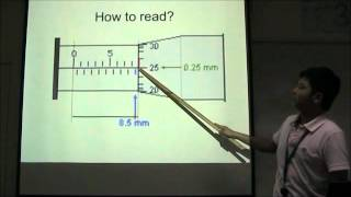 How To Read The Micrometer Screw Gauge