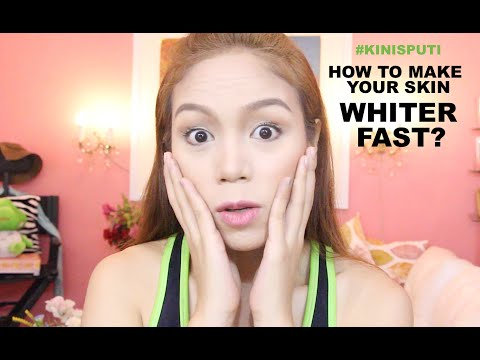 HOW TO MAKE YOUR SKIN WHITER FAST? #KINISPUTI - candyloveart
