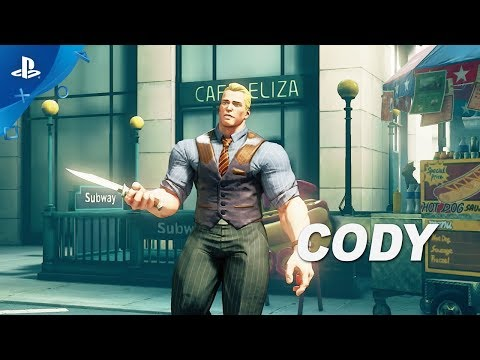 Street Fighter V: Arcade Edition – Cody Gameplay Trailer | PS4