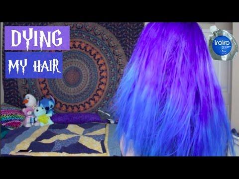 Dying My Hair Purple & Blue   Hope Marie