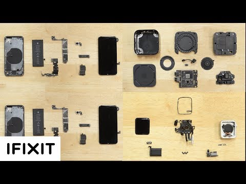 4 Apple Teardowns and Your Questions Answered! iPhone 8, 8 Plus, Apple Watch Series 3 & Apple TV 4k