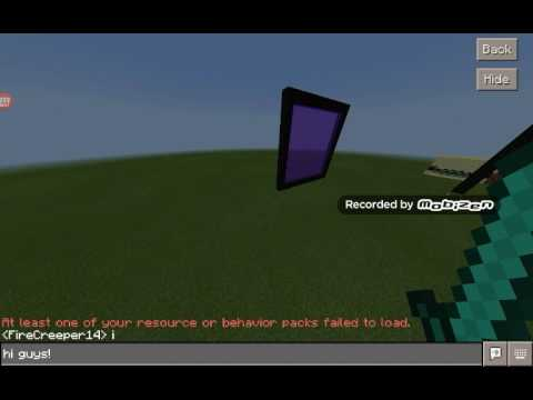 How to build end portals and nether portals in Minecraft PE