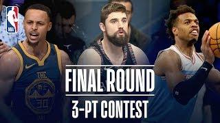 3-PT Contest Final Round | Joe Harris, Buddy Hield, Steph Curry Face Off! | 2019 NBA All-Star