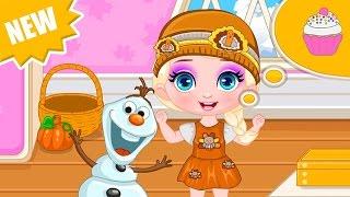 Frozen Movie Game - Baby Elsa Thanksgiving - Frozen Baby Disney Princess