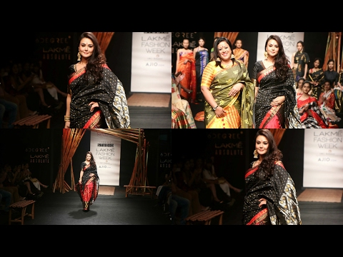 Preity Zinta Walks As Showstopper For Sanyukta Dutt At Lakme Fashion Week Summer 2017
