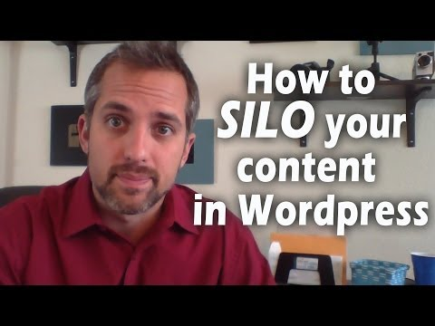How to build a silo structure in Wordpress without plugins- SEO web design