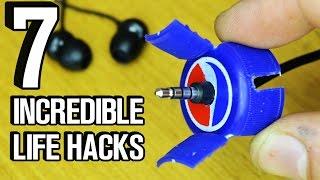7 Incredible Life Hacks and Gadgets!
