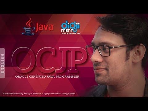 Oracle Certified Java Programmer (OCJP) - SCJP - Course Content