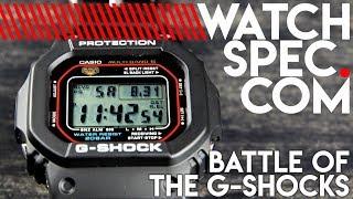 CASIO G-SHOCK DW5600 VS. GWM5610 // BATTLE OF THE BEASTS