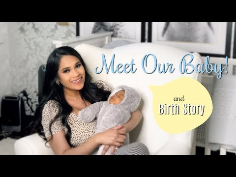 Meet Our Baby & Birth Story! First Time Mom MissLizHeart