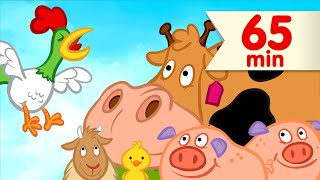 🐓  Good Morning Mr. Rooster + More | Kids Songs | Super Simple Songs