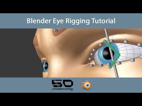 Blender Eye Rigging Tutorial