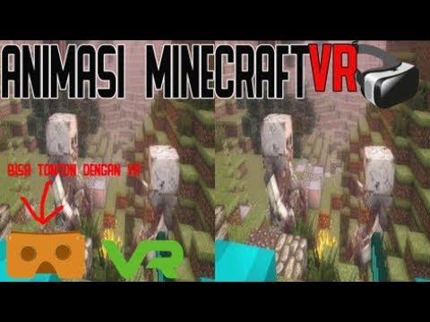minecraft VR horror animation