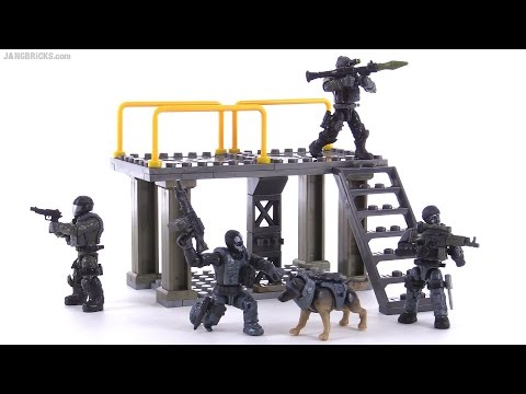 Mega Bloks Call of Duty Ghosts - Covert Ops Unit review