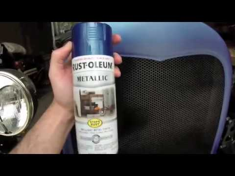 Rustoleum Metallic Cobalt Blue Review