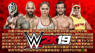 WWE 2K19 FULL Roster with 200 Superstars Prediction
