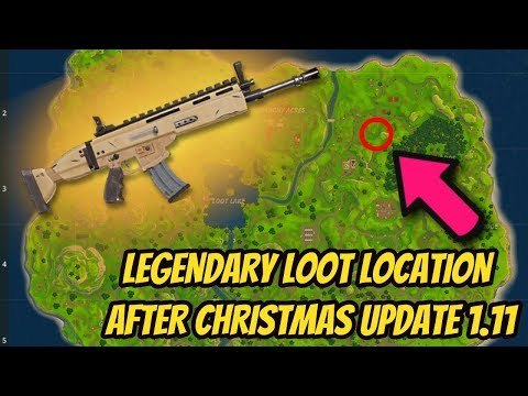 SCAR LOCATION! HOW TO GET LEGENDARY SCAR EVERY TIME in FORTNITE BATTLE ROYALE! (ALL CHEST LOCATIONS)