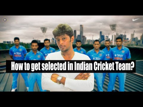 How to get selected in Indian cricket team? (Tamil) | Nothing But Cricket