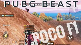 Poco f1 || The PUBG BEAST || Playing with randoms pt.4 || PUBG MOBILE