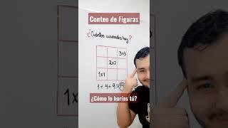 CONTEO DE FIGURAS   ¿CUÁNTOS CUADRADOS HAY?