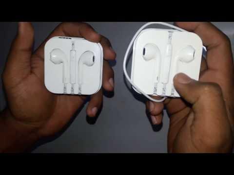 Apple Earphones : Original vs Fake From Gaffar Market