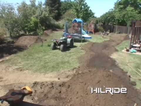 JC Poussin Backyard Pump Track