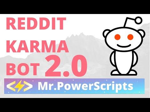Farm Karma on Reddit With Bots 2019 Update