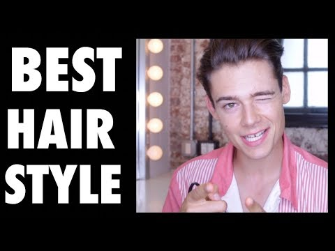 THE BEST HAIRSTYLE FOR MALE MODELS! Haircut and Styling Tutorial