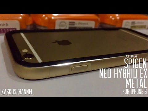 Spigen Neo Hybrid EX Metal Red, Gold & Grey iPhone 6 Case Review - iDevice.id