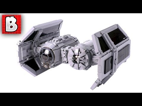 Amazing LEGO TIE Bomber MOC! | Star Wars Custom Build Instructions Available