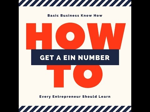 How To Get An EIN Number